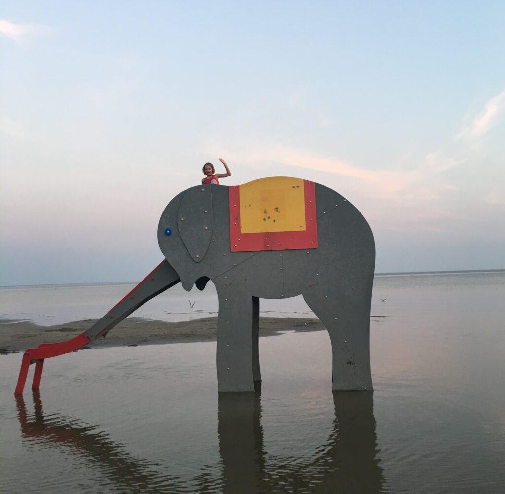 Pärnu ranta norsu